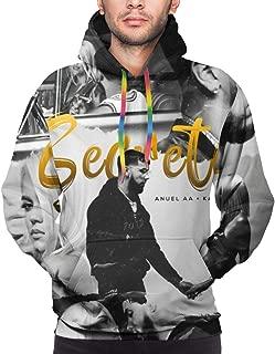 Anuel AA Karol G - Secreto Man's Fashion Design Printing Hoodie Sweatshirt