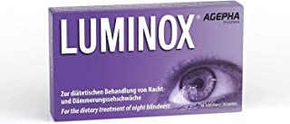 Luminox Suplemento para la Visión | Tabletas para Mejorar la Visión con Guaraná. Arándano. Acai y Ginkgo Biloba | La Mejor Vitamina para los Ojos