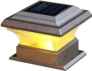 Outdoor Light Column Light Traditional Outdoor Waterproof Pillar Lamp External Rustproof Aluminum E27 Stigma Lantern Backy...