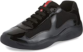 Men's Linea Rossa America's Cup Patent Leather Sneaker, Black