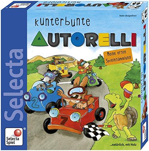 Selecta 63012 kunterbunte Voiture relli, Les Enfants Jouet