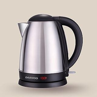 Daewoo 1.7 Liter Stainless Steel Electric Kettle 2200W Korean Technology DEK1518 Silver/Black - 2 Years Warranty