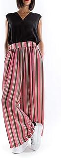 MARC ELLIS pantalone palazzo rosa