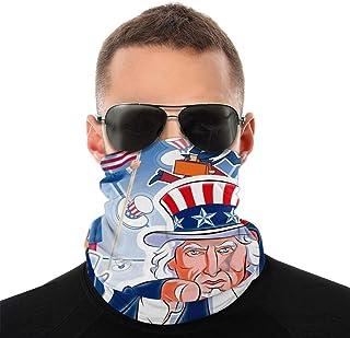 Nother Rolig självständighetsdag vindpaus bandana scarf tvättbar dammmask rånarluva ansikte mun