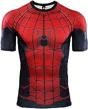 ComicCosplay Far from Home Short Sleeve Men's Compression Shirt 3D Print T-Shirt