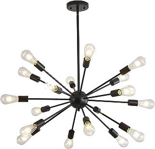 Mid-Century Sputnik Chandeliers Pendant Lighting, Modern...