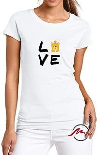 Love Shih Tzu Dog Fashion Cotton Tee Unisex Adult Youth Tshirt