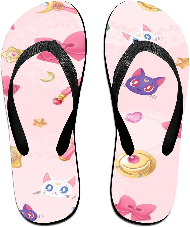 Anime Flip Flops Slippers Cute Flip Flops Indoor And Outdoor Beach Unisex