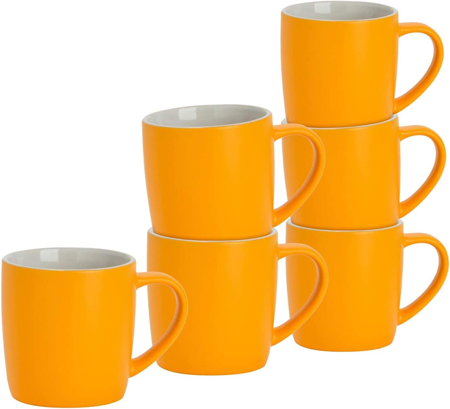 Argon Tableware 6 Piece Matt Tea Max Limited time for free shipping 49% OFF and Set Mug - Modern Coffee Sty