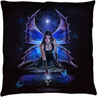 Anne Stokes - Immortal Flight Throw Pillow 14 x 14in