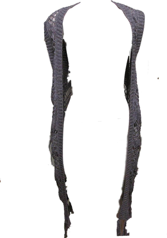 Bear Dance Juniors Fashion Knit Sleeveless Vest Boho Brown