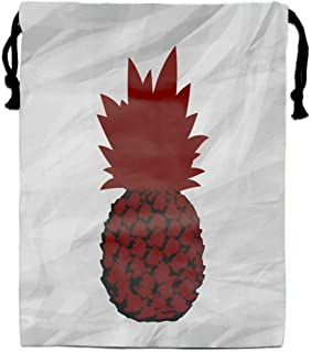 Canada Pineapple Flag Party Supplies Favors Bags Drawstring Gifts Bags