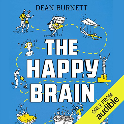 The Happy Brain audiobook cover art