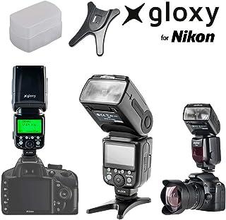 Gloxy TR-985 TTL Flash compatible con Nikon D3400, D3200, D3300, D7100, D5100, D5200, D5300, D500, D7000, D800, D90, D600