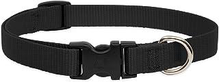 Lupine Dog Collar 9-14, Black, 3/4 inch
