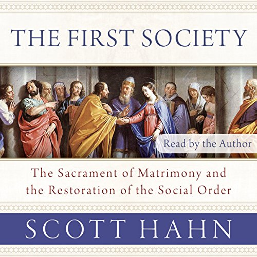 The First Society audiobook cover art