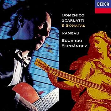 Scarlatti: 9 Sonatas / Rameau: Premier livre de pièces de clavecin (excerpts)