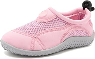 CIOR Toddler Kid Water Shoes Aqua Shoe Swimming Pool Beach Sports Quick Drying Athletic Shoes for Girls and Boys U120STHSX...
