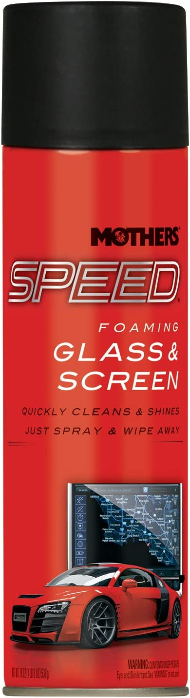 Ranking TOP5 Mothers 16619 Speed Foaming Glass 19 Cleaner oz. Complete Free Shipping Screen