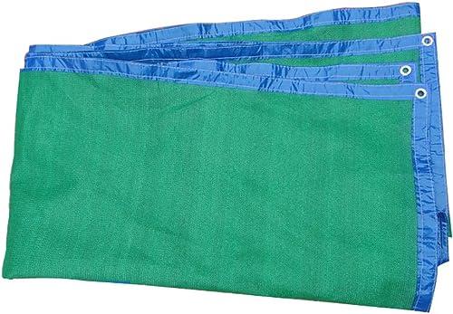 Camping et randonnée Tentes écran Solaire Net Ombre Verte Net épaississement Encryption Bord Net 4 Mètres De Large ++ (Taille   10x4m)