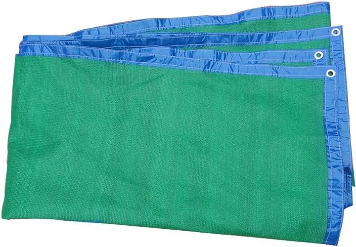 Z-P Tente écran Solaire Net Ombre Verte Net épaississeHommest Encryption Bord Net 4 Mètres De grand