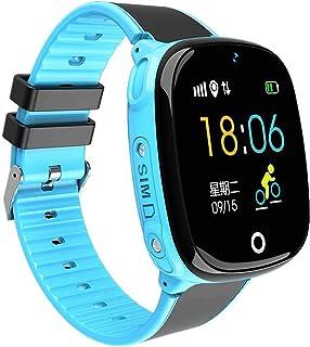 yankai GPS Reloj Smartwatch para Niños,Reloj Teléfono para Niños,Reloj Inteligente,monitoreo Remoto,Ayuda Emergencia,Soporte para Múltiples Idiomas