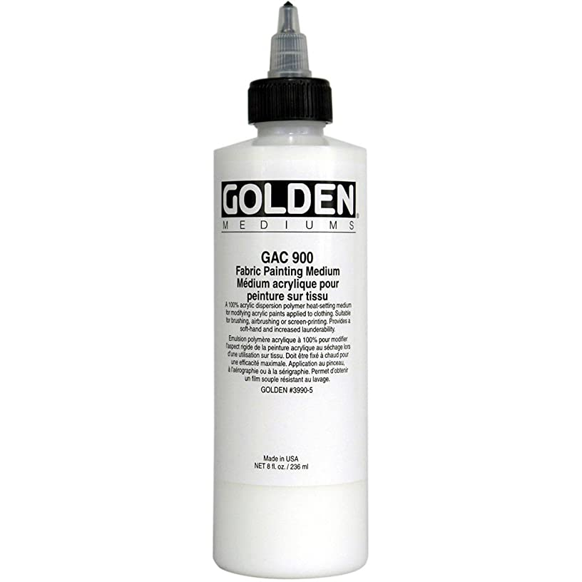 Golden Acrylic Polymer GAC-900 (Heat Set) Fabric Painting Medium - 32 oz Jar