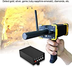 ANLW Lightweight Metal Detector with All-Metal, Detecting with High Sensitivity, Gold Silver Gem Diamond Metal Detector Handheld Long Range Underground Black Hawk GR100