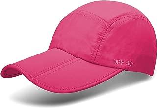 Unisex Foldable UPF 50+ Sun Protection Quick Dry Baseball Cap Portable Hats