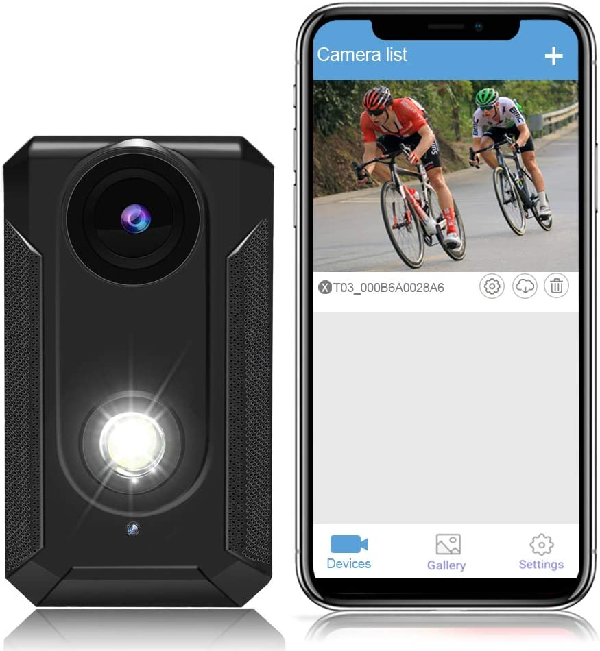 TEENTOK Bike Camera depot with Front Light HD Front-View WiFi New product type Bi Full