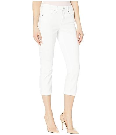 NYDJ Chloe Capri Jeans in Optic White (Optic White) Women