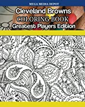 Cleveland Browns Coloring Book Greatest Players Edition