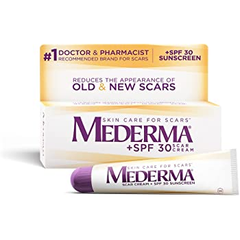Amazon Com Mederma Advanced Scar Gel 1x Daily Reduces The