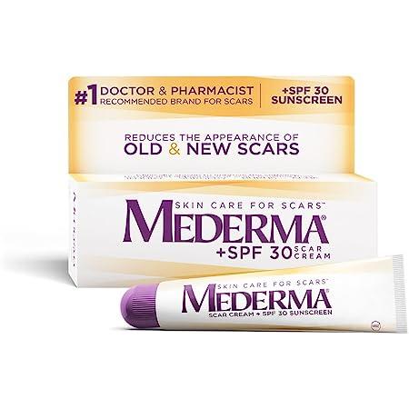 Mederma Scar Cream Plus SPF 30 (20 g), 0.7 Ounce
