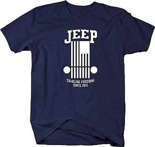 All American Military Enabling Freedom Since 1941 for Rubicon Club Mens T-Shirt