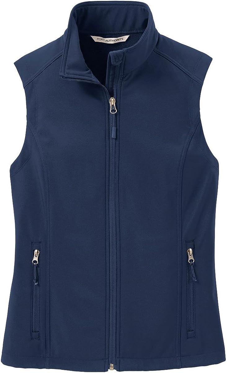 Port Authority Women's VersatileCore Soft Shell Vest, Dress Blue