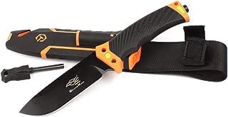 Firebird Fixed Blade Tactical Knife F803 w/Firestarter & Sharpener