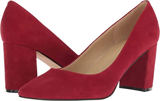 Luxe Red Savoy Suede
