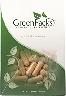 GreenPacks® Organic Ceylon Cinnamon 1000mg per Serving (500mg per Capsule) Supplement - 60 Capsules