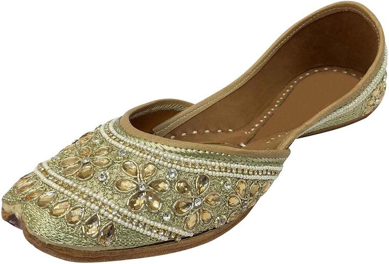 Step n Style Punjabi Jutti Khussa shoes Flip Flop Indian shoes Sandal Slipper Juti DD994