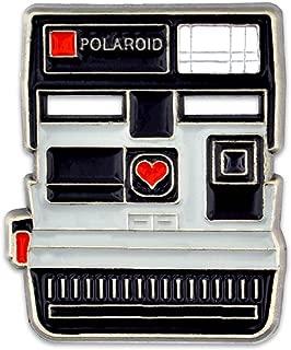 Vintage Polaroid Camera Photograhy Trendy Enamel Lapel Pin
