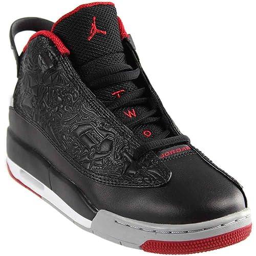 competitive price b7bc1 efb1b Jordans Black and Red: Amazon.com