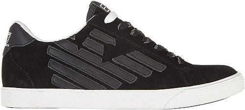Emporio armani ea7 sneaker uomo 278038 CC299 noire T42
