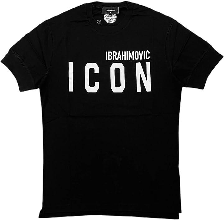 Dsquared2 t-shirt icon zlatan ibrahimovic dsquared2 - ibrahimovic icon B08WYRM1FX