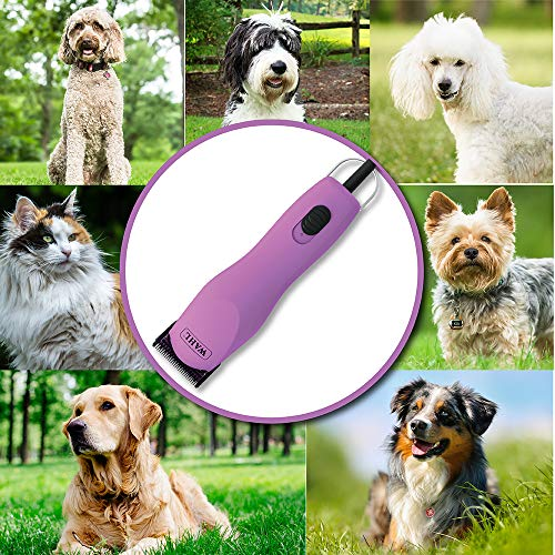 Wahl Professional Animal Thick Coat Pet Clipper & Dog Clipper, One Size, Pink...