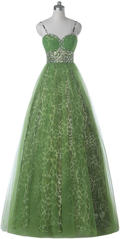 Angel Bride Spaghetti ALine Maternity Dress Leopard Print Formal Evening Gown