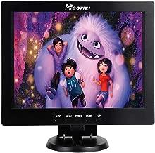 Haorizi 12 Inch Color Security CCTV Monitor 800X600 4:3 Video and Audio TFT LCD Display Screen AV/VGA/HDMI/BNC USB Input with Dual Speakers