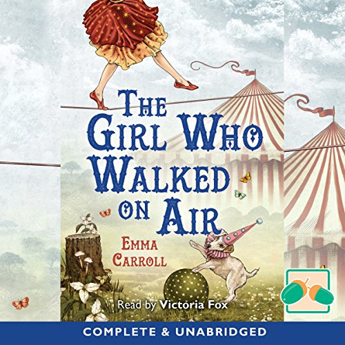 The Girl Who Walked on Air audiobook cover art
