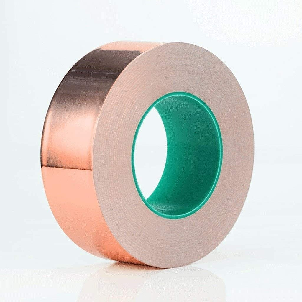 ZJFF Copper Gorgeous Foil Tape with Adhesive Double-Lead Max 90% OFF Coppe Conductive