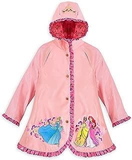 Store Princess Cinderella/Ariel/Tiana Rain Jacket/Raincoat Size M 7/8